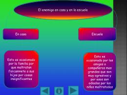 ACOSO ESCOLAR - andrewalvarezfuentes