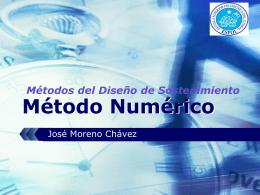Clasificación de Métodos Numéricos