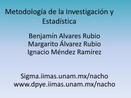 Metodologia de la Investigacioon y Estadisticacch1