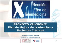 enfermedades crónicas - Sociedad Española de Informática de la