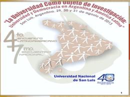 Gobierno universitario y comportamiento institucional