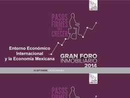 Diapositiva 1 - Gran Foro Inmobiliario 2015
