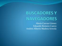 BUSCADORES Y NAVEGADORES.
