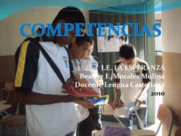 COMPETENCIAS PARA EL ICFES (1)