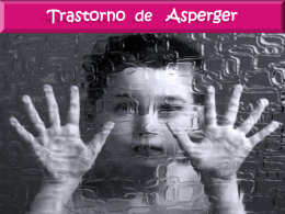 TRASTORNO DE ASPERGER-MARISOL
