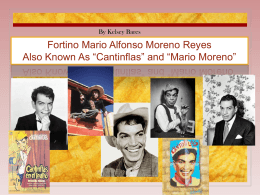 Cantinflas Presentation