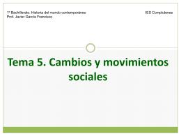 HMC T5 Cambios y movimientos sociales