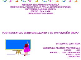 Presentación de informe 3