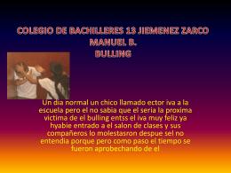 colegio de bachilleres 13 jiemenez zarco manuel b. bulling