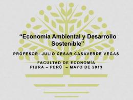 Economía Ambiental y Ecología Económica