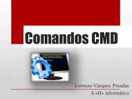 Comandos CMD.