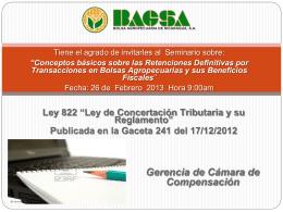 invitación - Bolsa Agropecuaria de Nicaragua