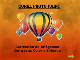 COREL PHOTO PAINT - COLEGIO NUEVA ESPAÑA