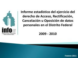 sdp2009_2010 - Instituto de Acceso a la Información Pública y