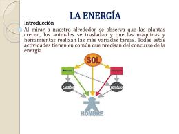 LA ENERGÍA - Apuntesdeciencias
