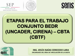 sceo bedr (uncader, cirena) cbta (cbtf)