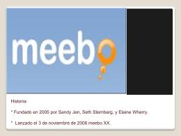 Meebo es un cliente de mensajería instantánea que se ejecuta