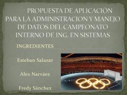 proyecto Campeonato