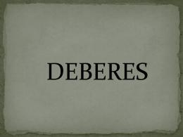 DEBERESCMBJ