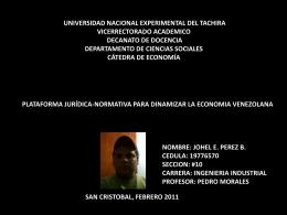 Descarga - Economia Unet 1013401T Departamento de ciencias