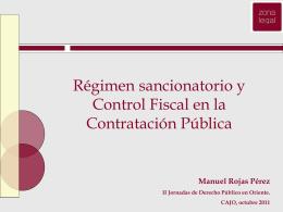 Prsentacion Dr. Manuel Rojas Perez -Sanciones en la Ley