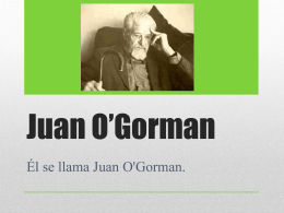 Juan O*Gorman - Level1MexicanArtists