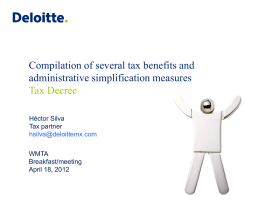 Hector Silva, Deloitte Mexico Tax Partner