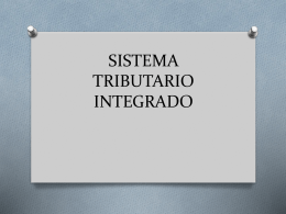 SISTEMA TRIBUTARIO INTEGRADO (884745)