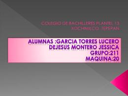 COLEGIO DE BACHILLERES PLANTEL 13 XOCHIMILCO