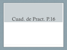 cuad. de pract. p.16