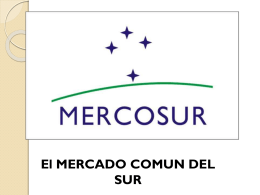 ¿Que es Mercosur?