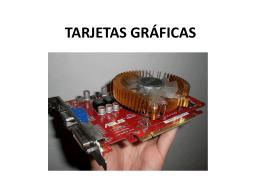 TARJETAS GRÁFICAS - dpe