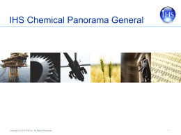IHS Chemical Panorama General