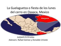 Las ocho regiones - 2013 Graduation ePortfolios BA in Spanish