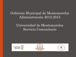 Los Determinantes de la Salud en las Políticas Públicas del Municipio