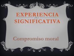 SEGUNDO PERÍODO - Una Experiencia