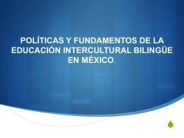 Políticas y fundamentos de EIB - Curso