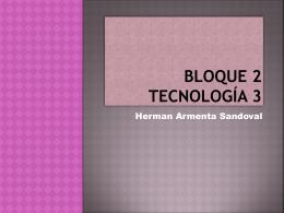 Bloque 2 Tecnología 3