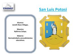 San Luis Potosi Alumna