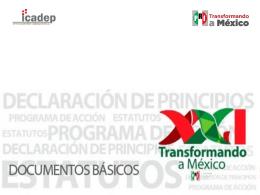 Declaración de Principios - Partido Revolucionario Institucional