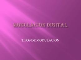 modulacion