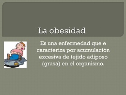 OBESIDAD - trabajosestrategias