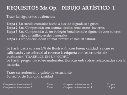 Requisitos 2das Art 1 Jose