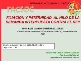 Seminario Luis Javier - Diario Digital de la UJA