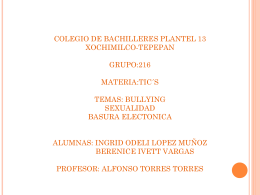 colegio de bachilleres plantel 13 xochimilco-tepepan grupo - tic-216