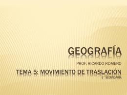 INTRODUCCIÓN A LOS CONCEPTOS GEOGRÁFICOS