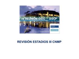 Diapositiva 1 - Grupo Gallego de Cáncer de Pulmón