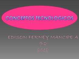 Diapositiva 1 - conceptos tecnologicos