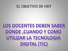 Fomentar el desarrollo de habilidades basicas en las TIC