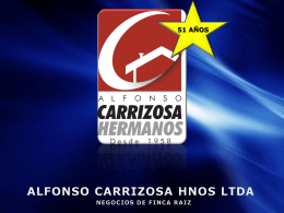ALFONSO CARRIZOSA HNOS LTDA